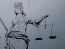 Niederschmetternd - Die blinde Justitia