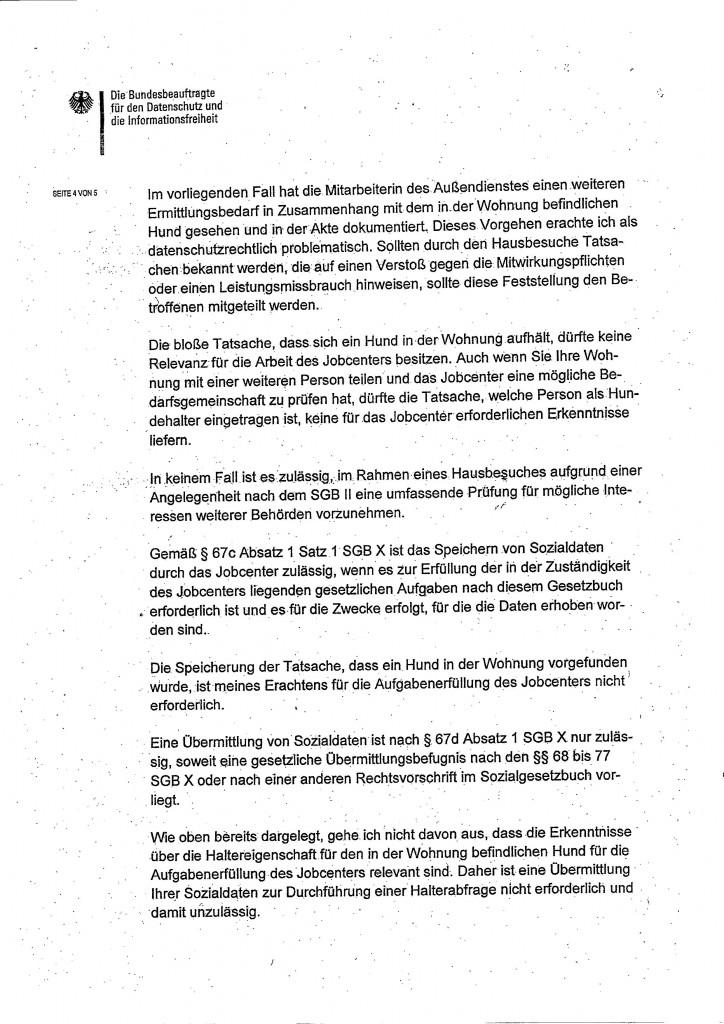 Schreiben Bundesdatenschutzbeauftragter0004