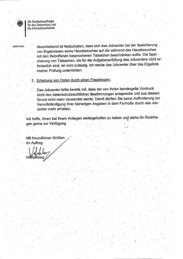 Schreiben Bundesdatenschutzbeauftragter0005